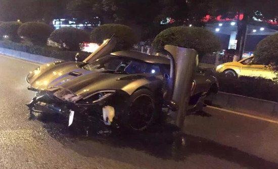 Agera R crash