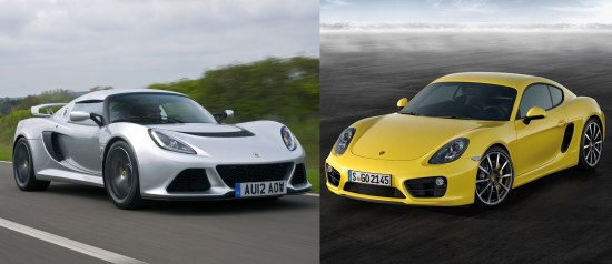 Exige S vs Cayman S