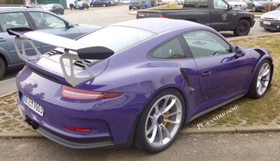 Porsche 911 GT3 RS paars