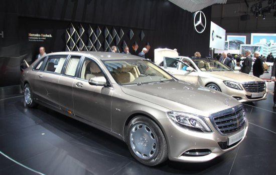 Mercedes-Maybach S600 + Pullman