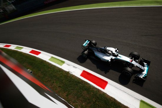 Mercedes F1 Monza