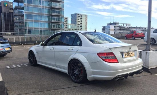Mercedes C63 AMG Widebody