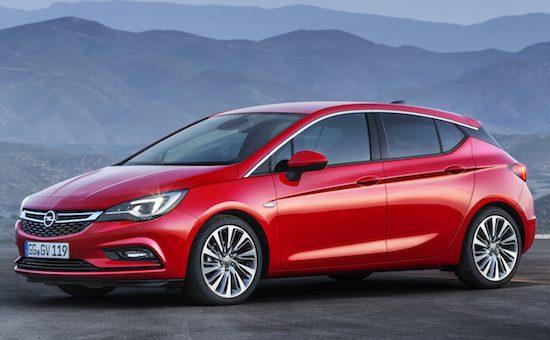 Nieuwe Opel Astra: kleiner en lichter dan zijn voorganger