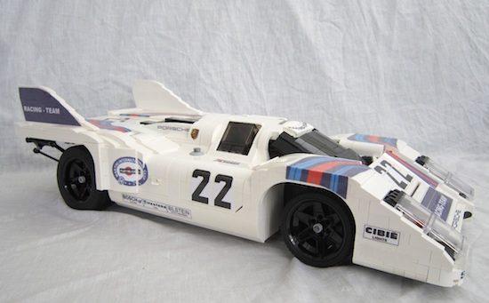 Van Lennep's Porsche 917k is er nu ook van LEGO