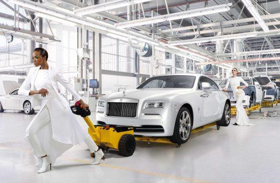 Het is hard werken bij Rolls-Royce