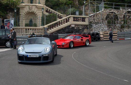 Ferrari F40 en RUF CTR-3