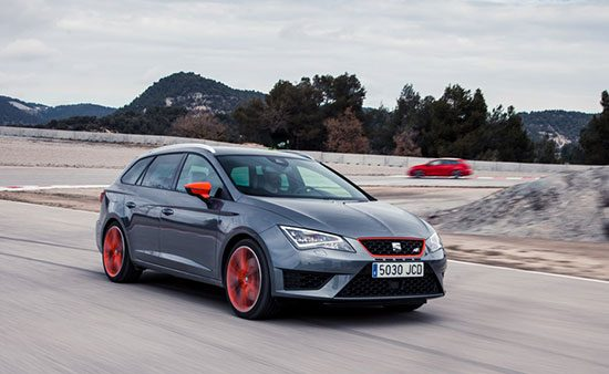 seat leon st cupra 280 driving test and video allnews. Black Bedroom Furniture Sets. Home Design Ideas
