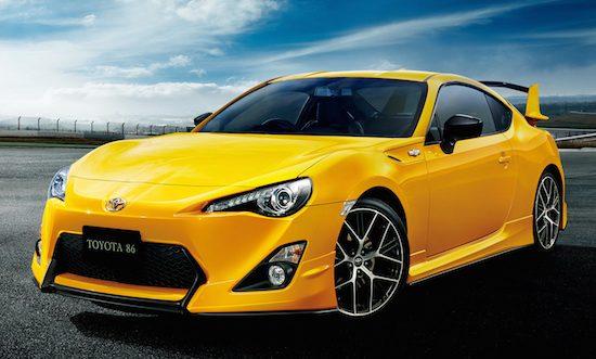 Toyota GT86 Yellow Limited: geler wordt het niet