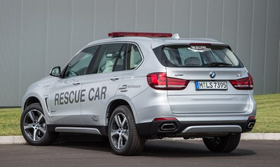 BMW X5 PHEV is een Rescue Car
