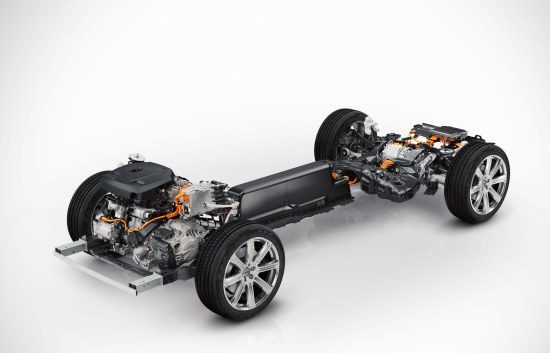 Volvo XC90 Twin Engine-onderstel