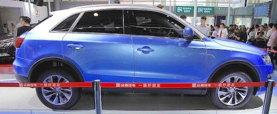 Maak kennis met de Chinese versie van de Audi Q3