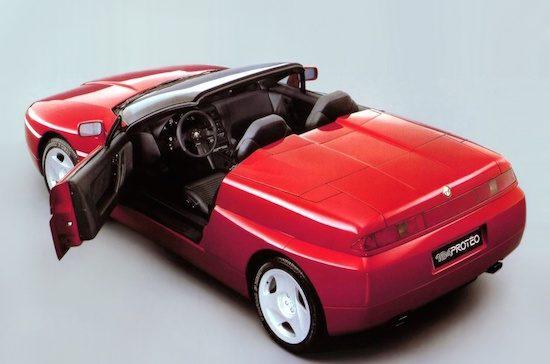 Vergeten concept: Alfa Romeo Proteo