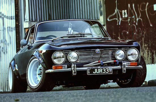 Alfa 2000 GTV met Nissan-power: heiligschennis of perfectie?