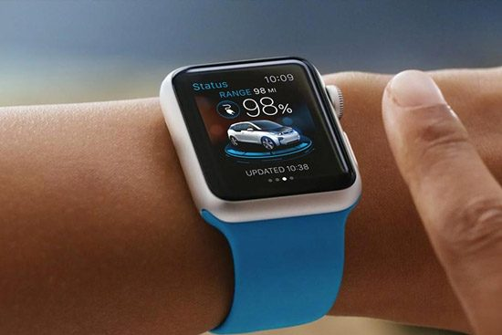 Je BMW bedienen met een Apple Watch