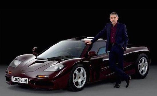 Mr. Bean heeft zijn McLaren F1verkocht