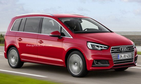 Iemand trek in een Audi A3 Active Tourer?