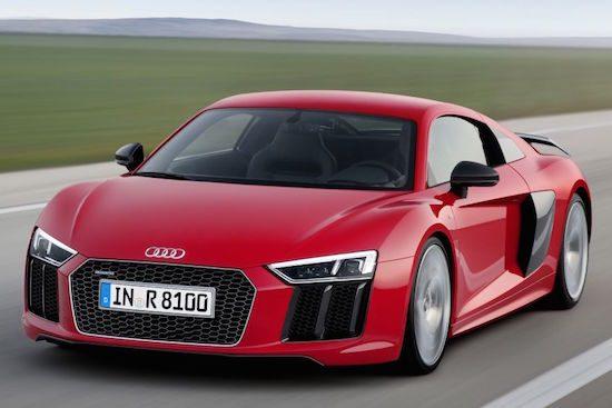 Audi R8 prijzen