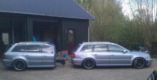 Audi RS4 en een half