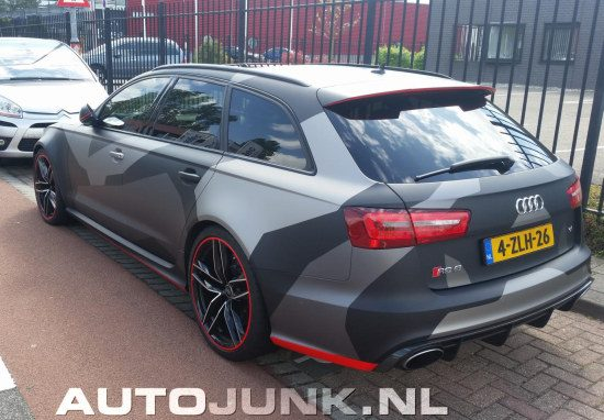 Audi RS6 camouflage