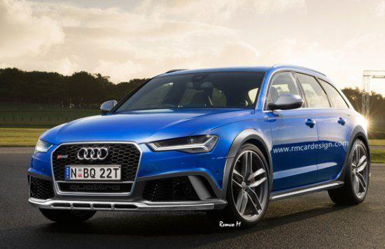Audi RS6 Allroad render is eigenlijk best geslaagd