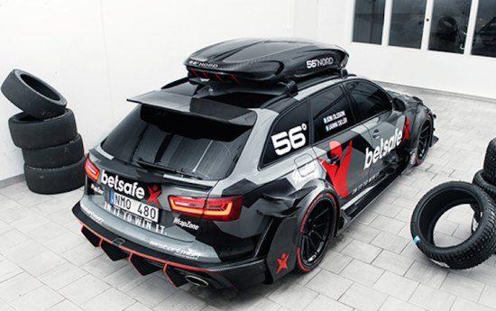 Nieuwe opmerkelijke info over de RS6 DTM-roof