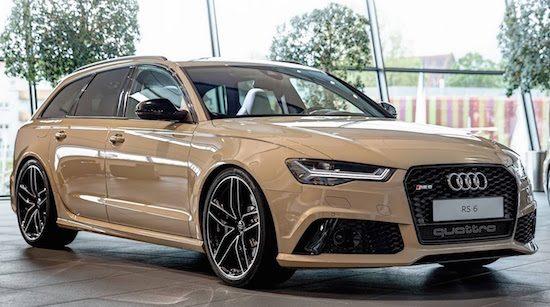De fijnste Audi RS6 komt in Mocha Latte