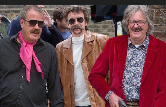 Clarkson, Hammond en May