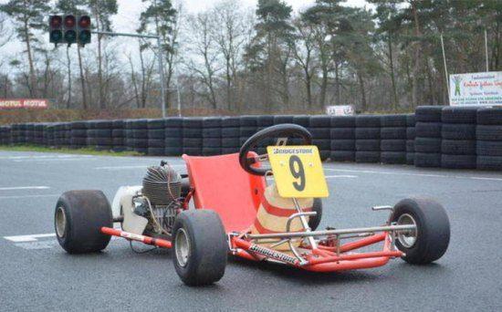 Senna's kart