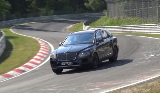 Bentley Bentayga op de 'Ring