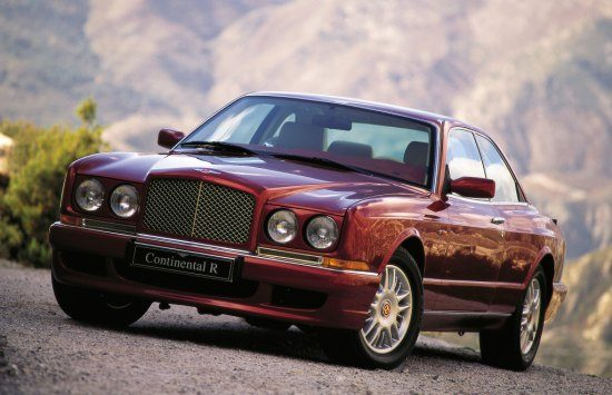 Bentley Continental R, youngtimer in beeld