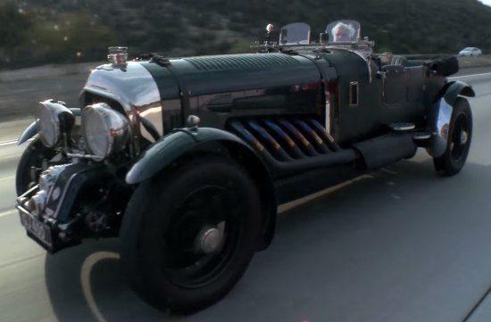 Bentley met vliegtuigmotor van Rolls-Royce
