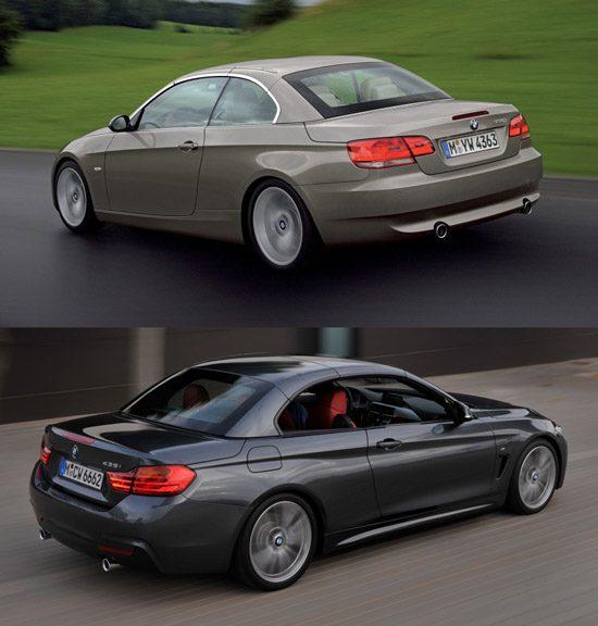 BMW 3 serie vs 4 Serie Cabrio