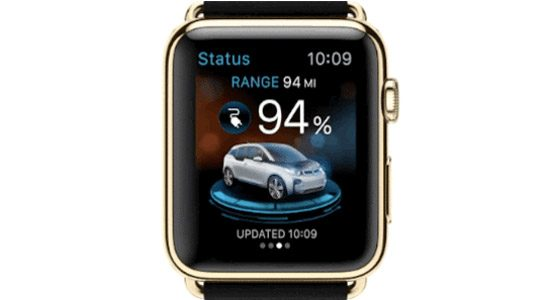 De BMW-app voor de Apple Watch