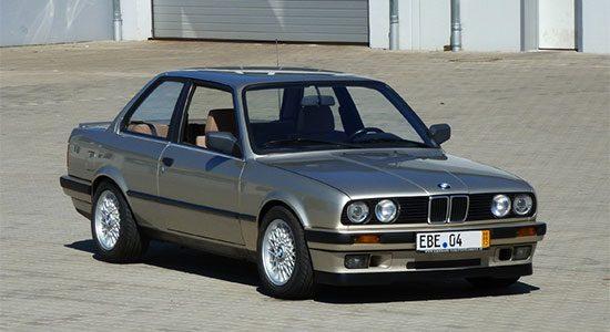 BMW E30 met V8 uit E34 540i te koop