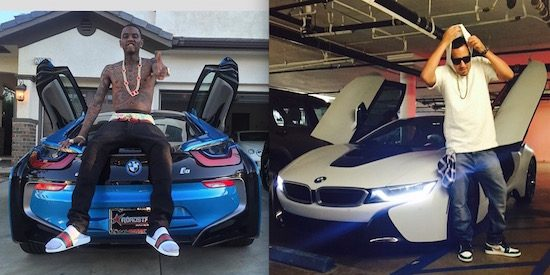 BMW i8 definitief doorgebroken in de hiphopscene