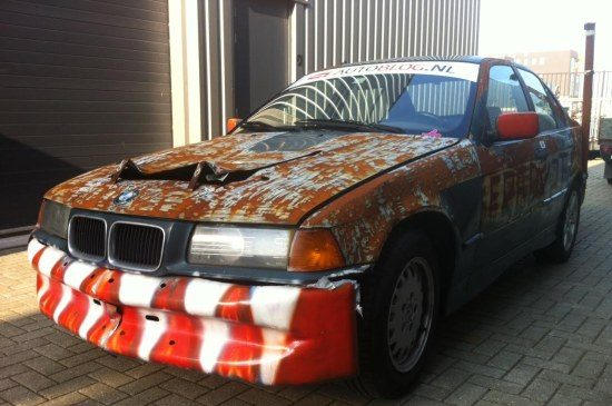 Autoblog BMW Junkyardrace