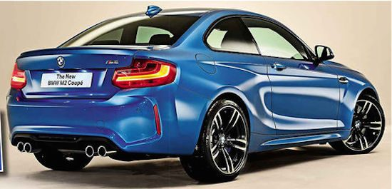 GELEKT: dit is de BMW M2!