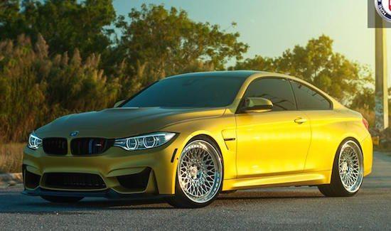 BMW M4 met honingraat-velgen: maken of kraken?