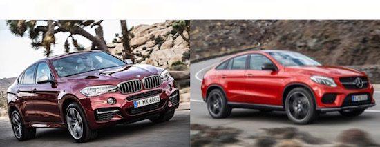 Kies maar: BMW X6 vs Mercedes GLE