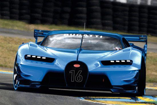 Dit is niet de Bugatti Chiron