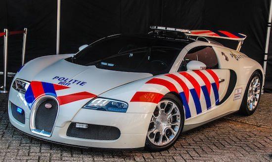 Bugatti Politie