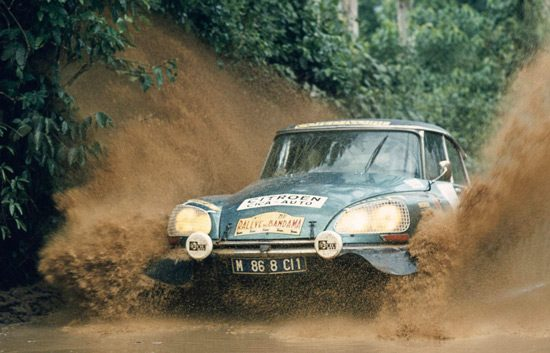 Citroen DS Rally