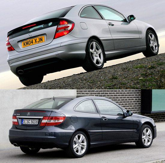 Mercedes CLC versus Sportcoupe