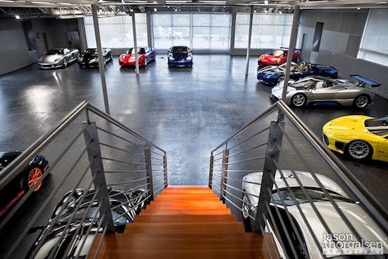 Ferrari met Corvette-motor
