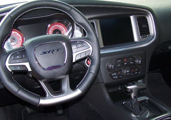 Dodge Charger Hellcat interieur