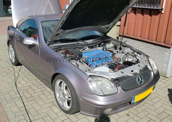 Te Koop One Off Elektrische Mercedes Slk Autoblog Nl