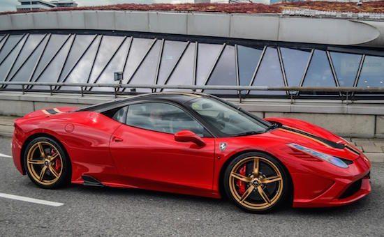 Ferrari 458 Speciale maakt Nederland onveilig