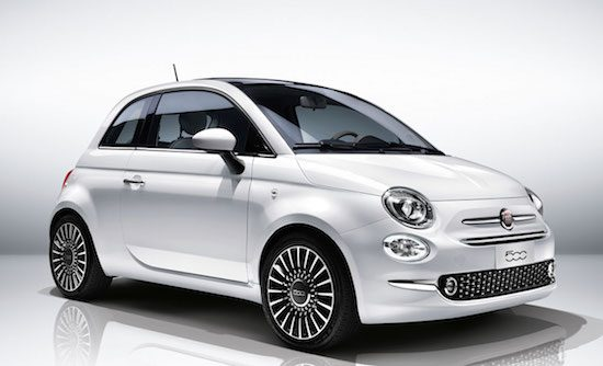 dit is de vernieuwde fiat 500 facelift. Black Bedroom Furniture Sets. Home Design Ideas