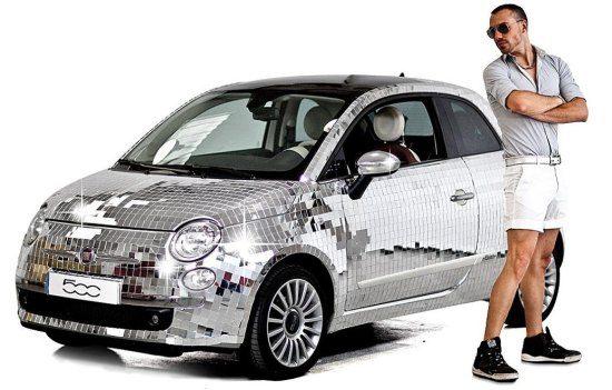 Vier Roze Maandag met de 8 keer de Fiat 500