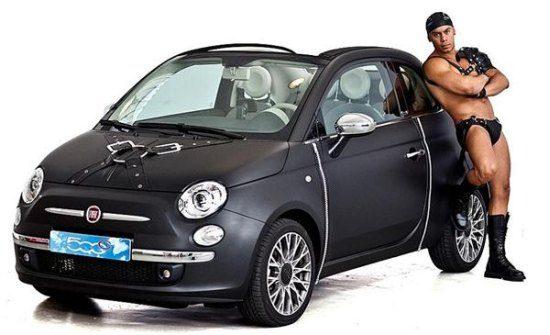 Fiat 500 leerfetisj